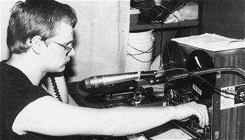 Eerste DJ Tom Vandermeer (Walter Jacobs)